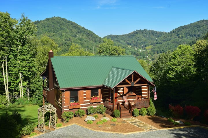MountainView - Luxurious Log Cabin - Boone - 小木屋