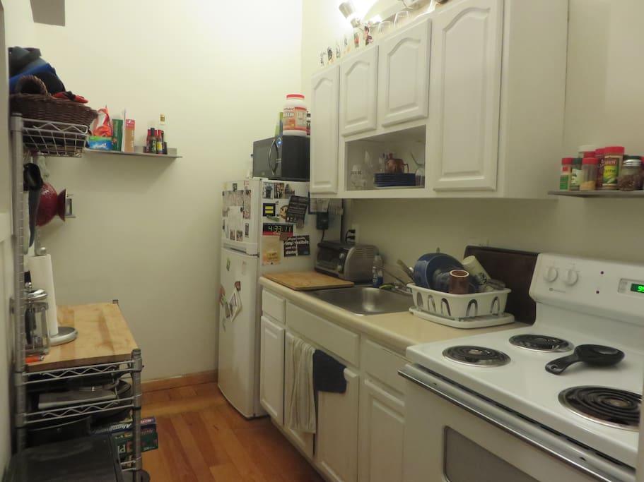 Plenty of room in the Kitchen