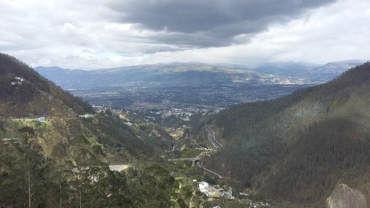 Quito mitad del mundo-impresionante vista
