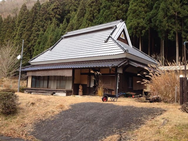 OLD  FARM  INN  BY STREAM IN Mt. - 朝来市生野町黒川 p15ー1