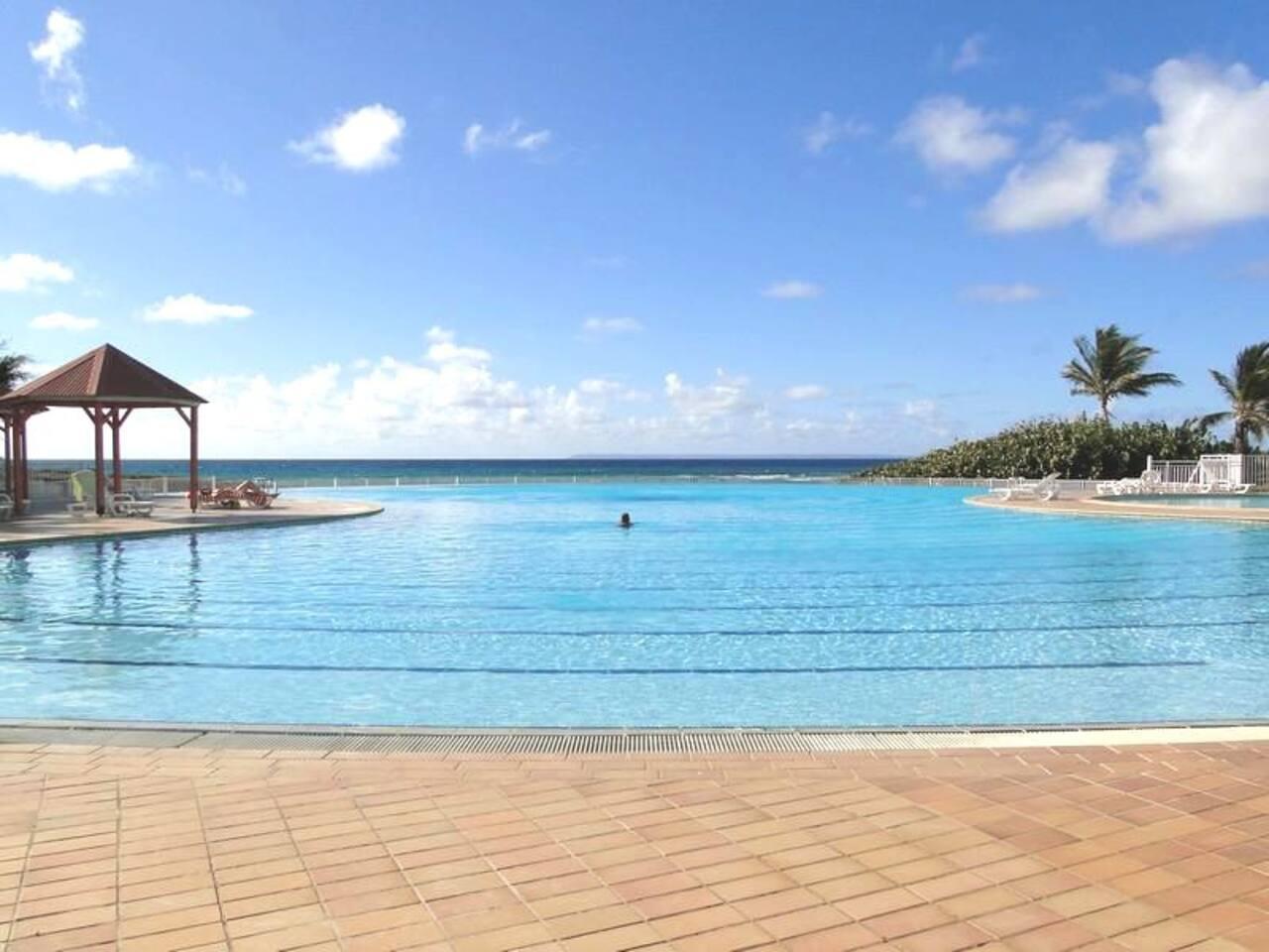 La plus grande piscine de Guadeloupe