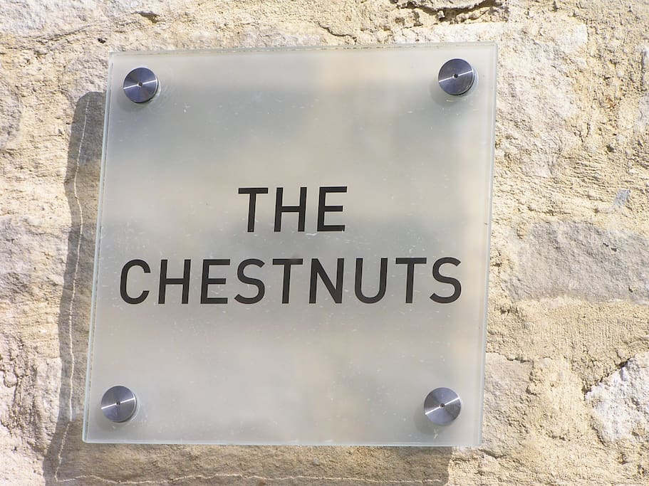 The Chestnuts is easy to find