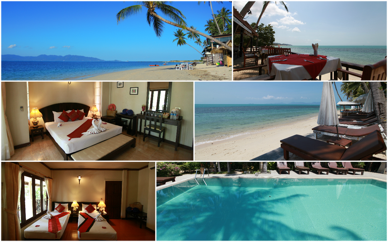 Comfy apartment at pristine beach - Ko Samui - Bed & Breakfast