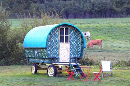 Traditional gypsy caravan in Dordogne - Anlhiac - Muu