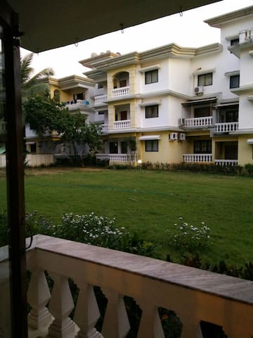 2BR furnished apartment on Ground Floor in Varca