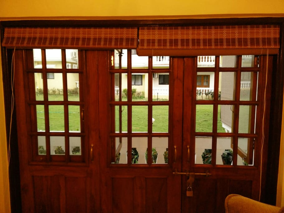 French Windows to Living Room Balcony
