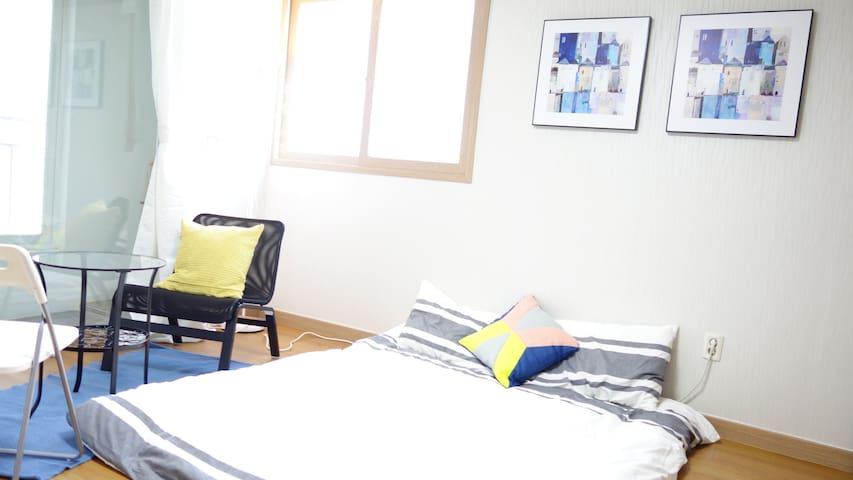 Riverside cozy room @ Free Pickup - Talhae-ro, Gyeongju - Daire