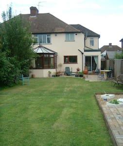 Large family home, green belt area - Ashtead