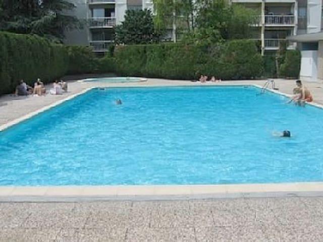 Studio avec piscine à Dijon - Dijon - Apartment