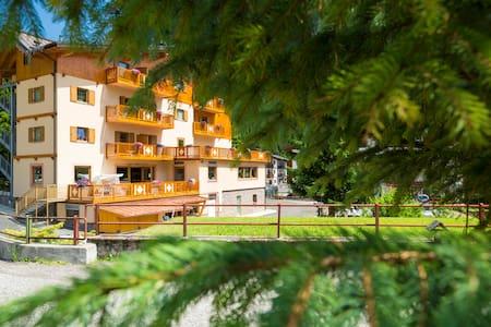 Camere con vista sulle Dolomiti! - Campitello di Fassa