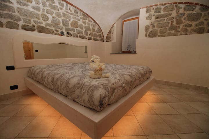 Romantico bilocale in Roncola... - Roncola - Apartment