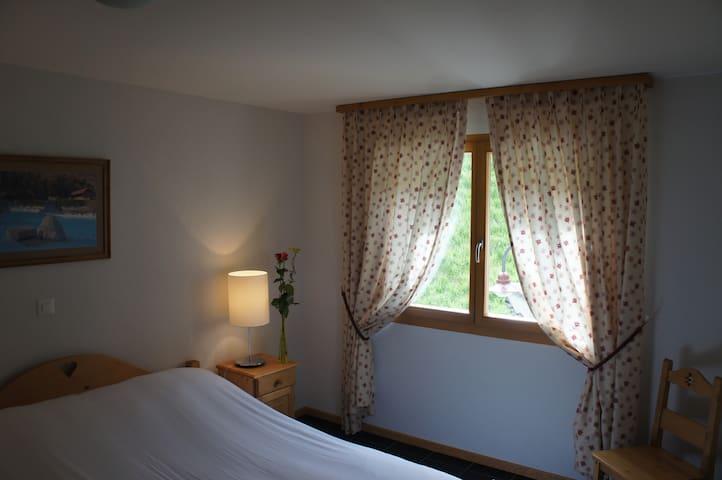 1 bedroom w Thermal Center acces - Val-d'Illiez - Kondominium