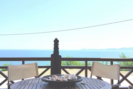 Luxury Villa with great sea-view - Nea Roda - 別荘