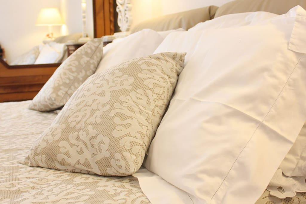 Dettaglio camera da letto cielo