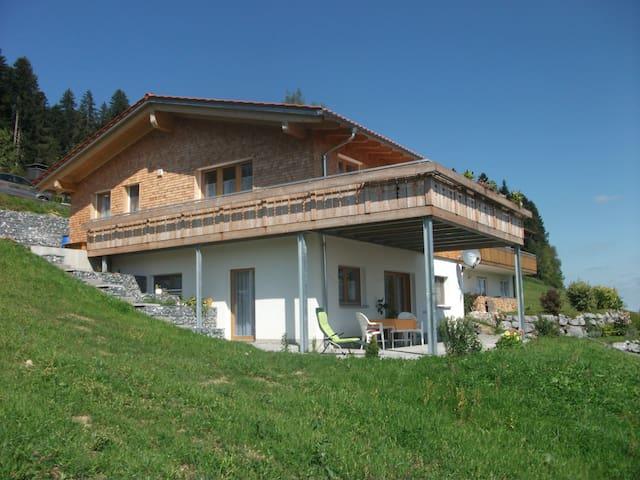Ferienwohnung Haus Lenzhalde - Oberreute - Appartement