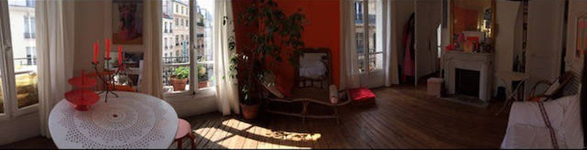 Your room in a charming appartement - center Paris
