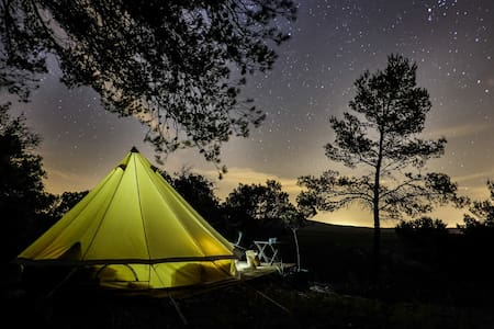 "Tente ""1001 nuits"", cocon de nature"