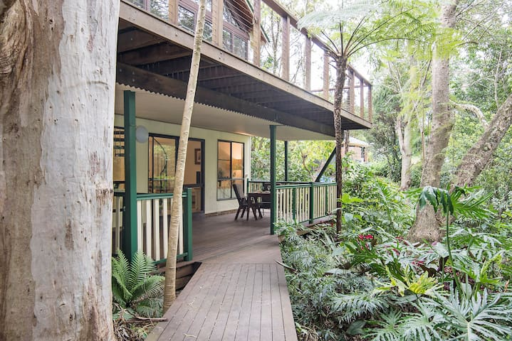 Peaceful, Luxurious Rainforest Stay - Goonellabah - Daire