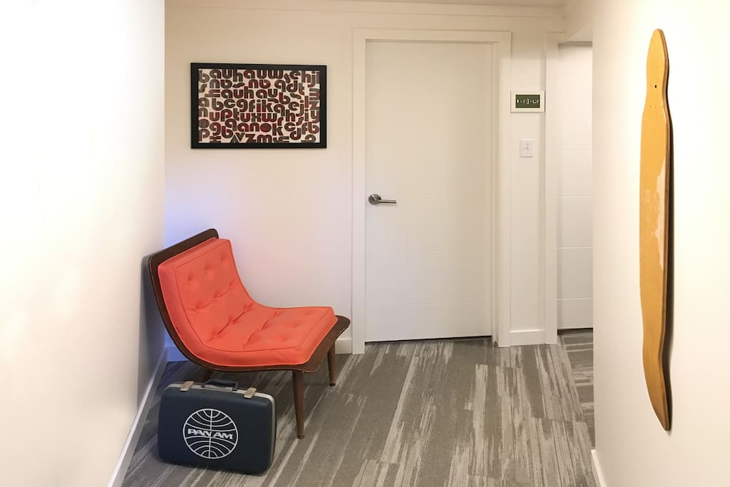 Lower Level Suite Entrance