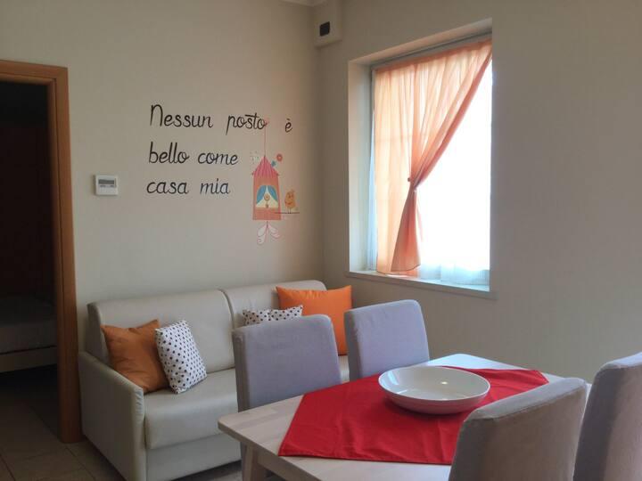 Residenza Villa-Apartment with Balcony