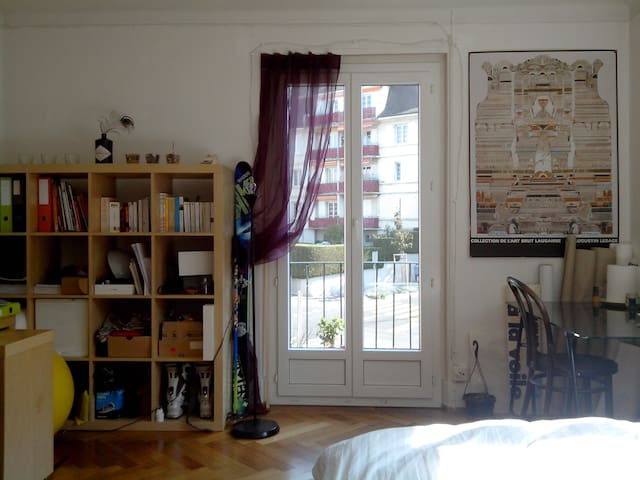 Room near Hermitage park - Lausanne - Apartment