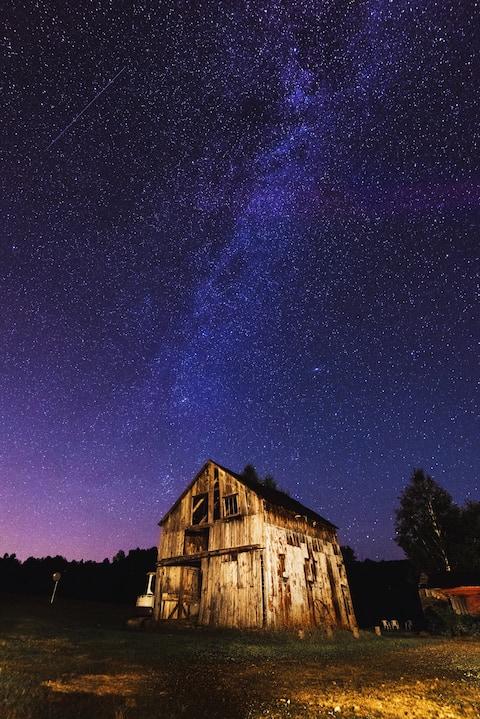 1797 Vt Farm House See the Stars!