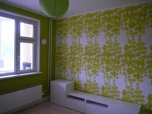 Комната для двух гостей + завтрак - Butovo - Lägenhet