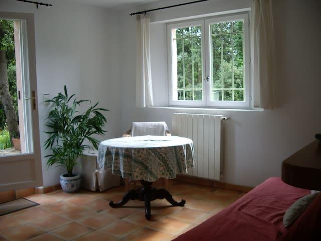 Adorable appartement indépendant - Roquefort-les-Pins - Lägenhet