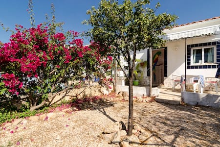Serendipity villa sleeps 2/3 persons Rustic Garden - Silves