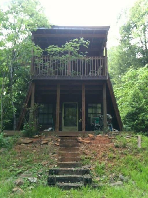 towns creek cabin near helen ga houses for rent in