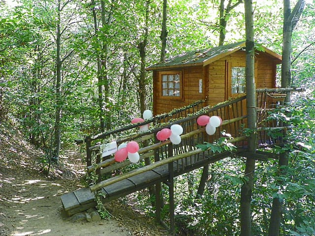 Treehouse in the woods - Torino - Lombház