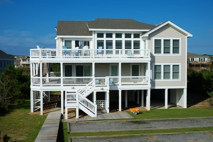 Outer Banks Ocean Front - Southern Shores - Rumah