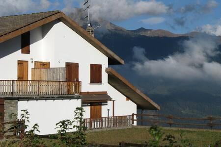 Alloggio splendida vista Torgnon - Torgnon - Lejlighed