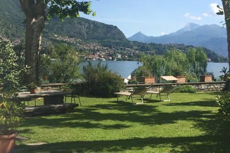 Villa sul lago di Como con darsena - Lenno - วิลล่า
