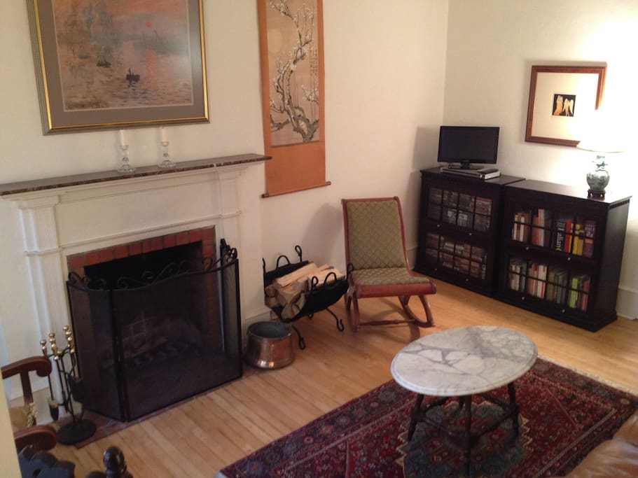 We believe the fireplace is original to the 1826 construction of the house.