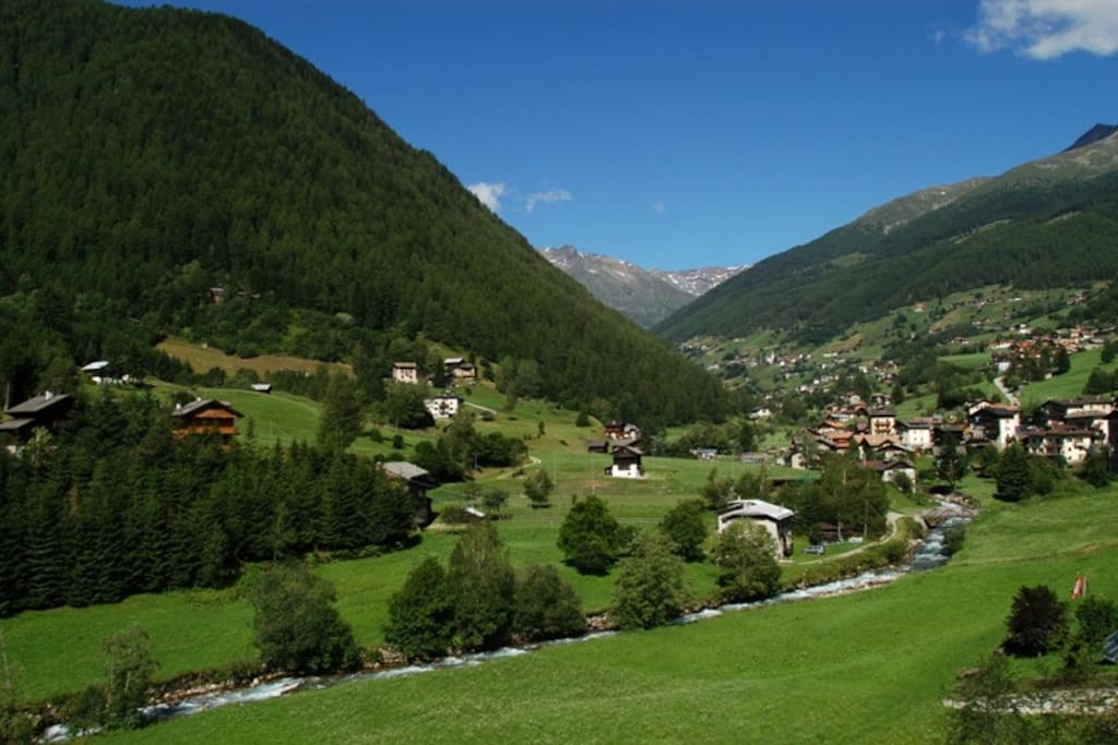 val di Rabbi- panoramica