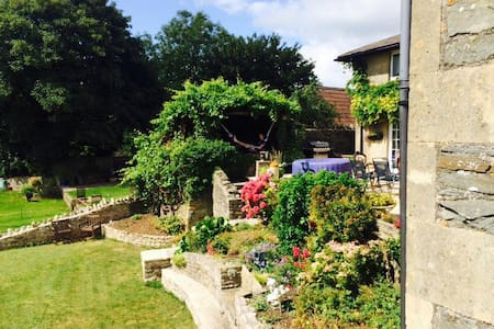 Country house  25 minutes to Bath, Bristol & Wells - clutton - Casa