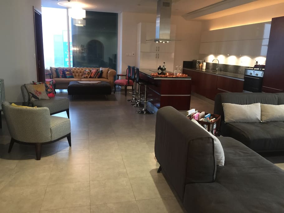 Designer 1 Bed Apt With Burj Views Appartamenti In