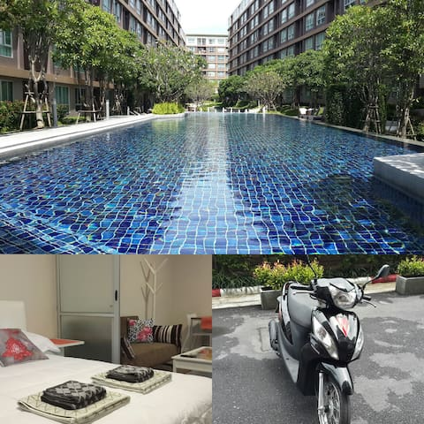 Brand new central condo Free bike - Kathu - Apartment