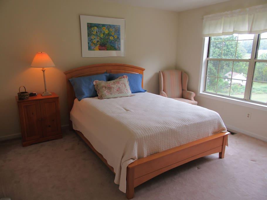 Guest bedroom on 2nd flr