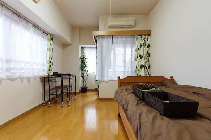 1min from Akihabara Sta Free rent PC and Wifi - Chiyoda-ku - Apartment