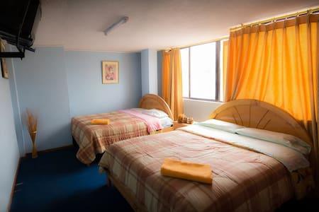 Hotel bed and breakfast riobamba - Riobamba - Szoba reggelivel