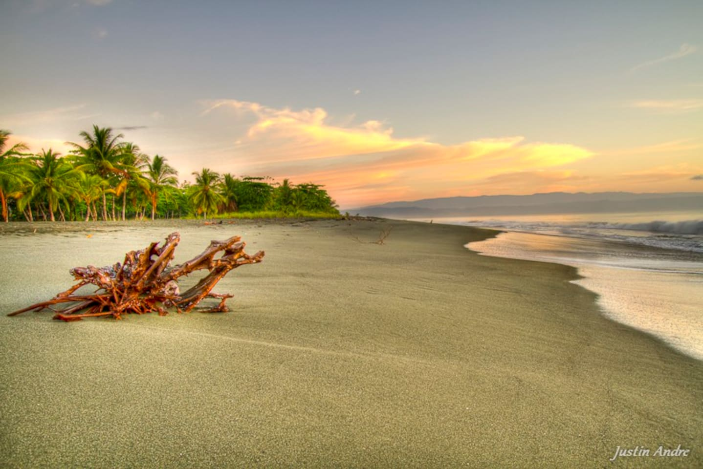 Our secluded, spectacular beach when you stay at our Costa Rican Beach House
