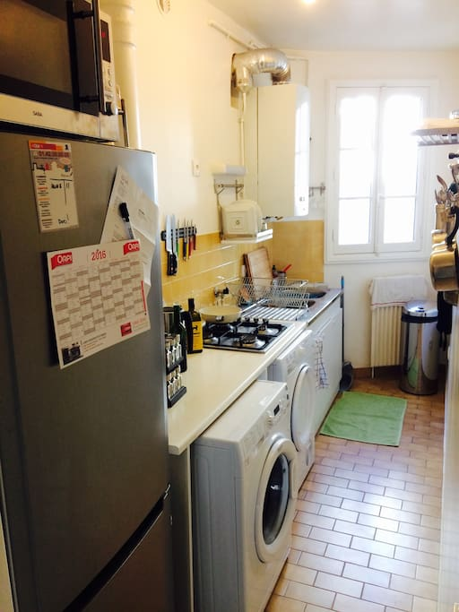 Kitchen - Fully equipped (minus oven)