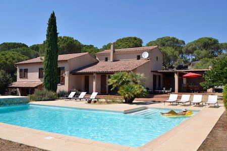 Spacious villa magnificent view - Vidauban