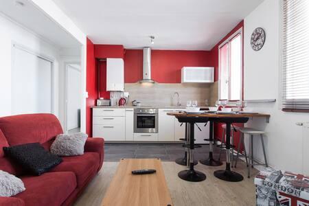 Bel Appartement 2 Chambres + Séjour