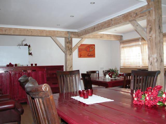 vakantiehuis voor groep tot 14 pers - Rockeskyll - Apartament