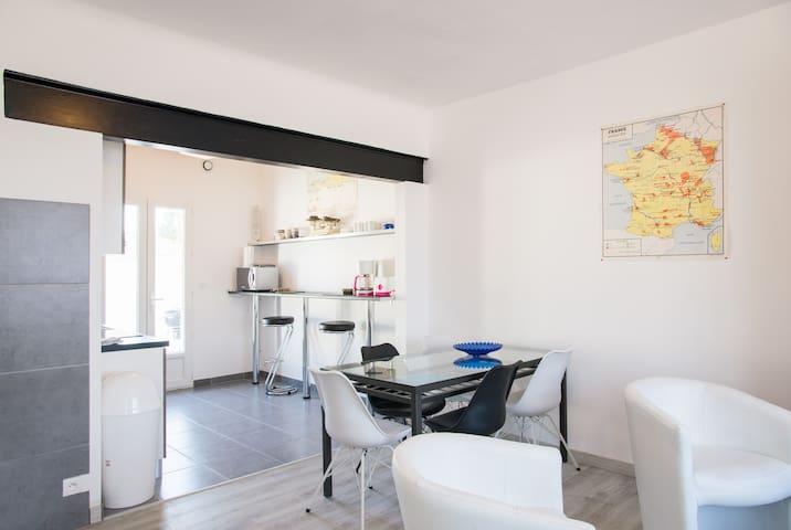 Maison rénovée 90M2 plage Sauveterre/marais/foret - Olonne-sur-Mer