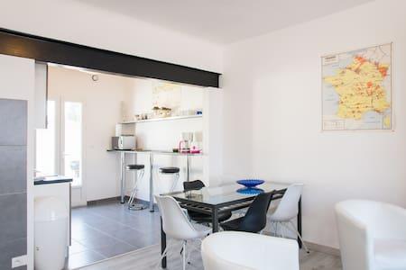 Maison rénovée 90M2 plage Sauveterre/marais/foret - Olonne-sur-Mer - Casa