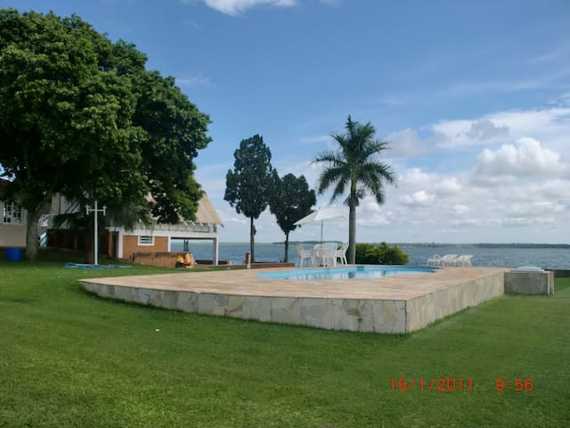 Chalet...! Place paradisiaco...!